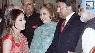 When Rani Mukerji Attended Dinner With Parvez Musharraf?