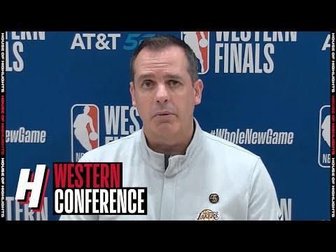 Frank Vogel Postgame Interview - Game 3   Lakers vs Nuggets   September 22, 2020 NBA Playoffs