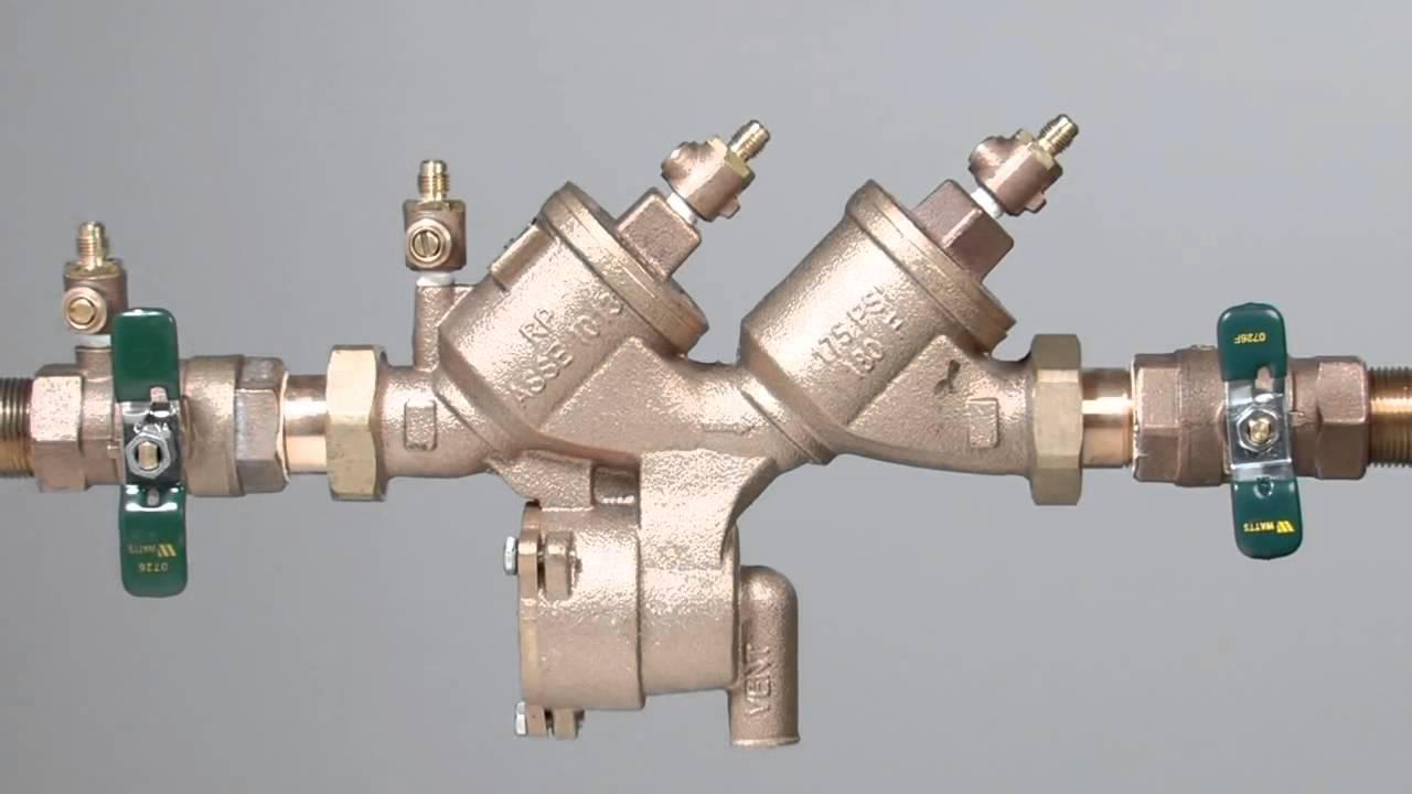 919 Backflow Preventer Repair