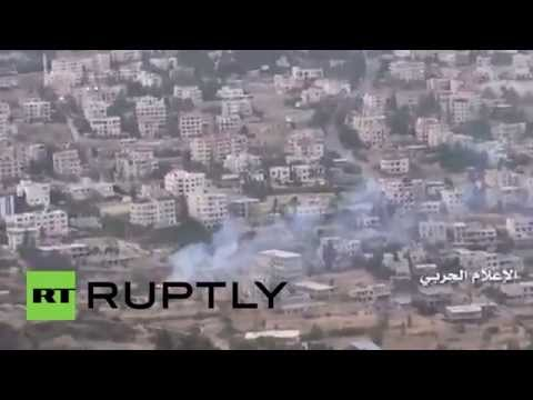 Syria: Hezbollah and Syrian Army bombard opposition-held Zabadani