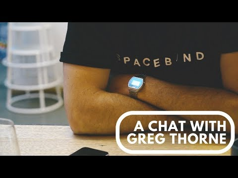 A Chat With... Greg Thorne.