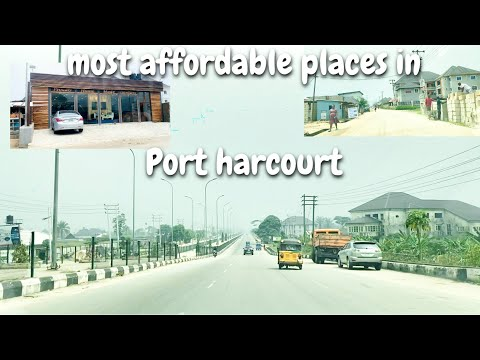 Most Affordable Places to Live in Port Harcourt Nigeria // Port Harcourt Living #3