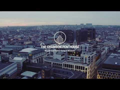 The Chambon Penthouse Brussels, design by Dieter Vander Velpen