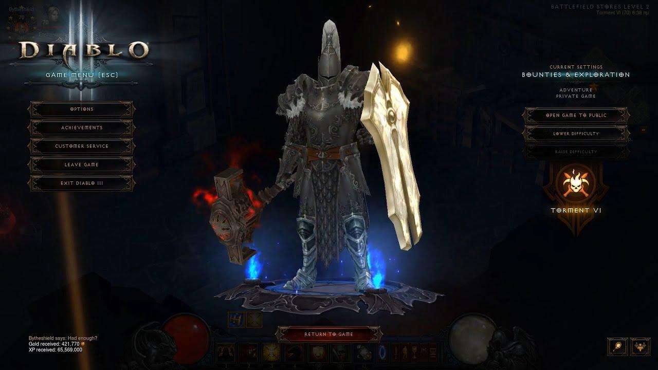 Diablo Crusader Build No Without Set