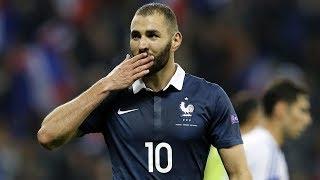 Les 27 buts de Karim Benzema en Équipe de France