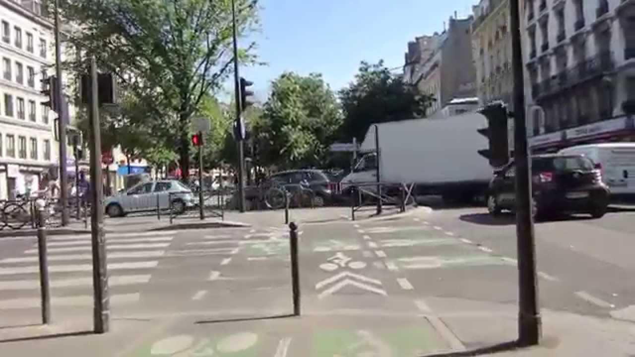 Cycling in Paris: Rue Cardinet _ Rue de Rome _ Boulevard des ...