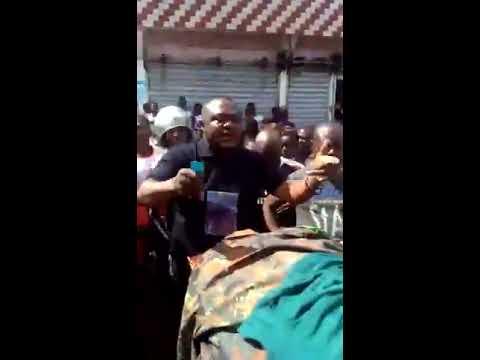AMBAZONIANS WATCH THE HOPELESS LRC MAYOR OF MAMFE MR. AYUK USE THE NSO AS CAMPAIGNE FOR ELECTIONS.