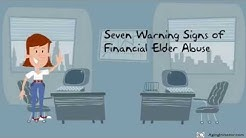 7 Warning Signs of Financial Elder Abuse