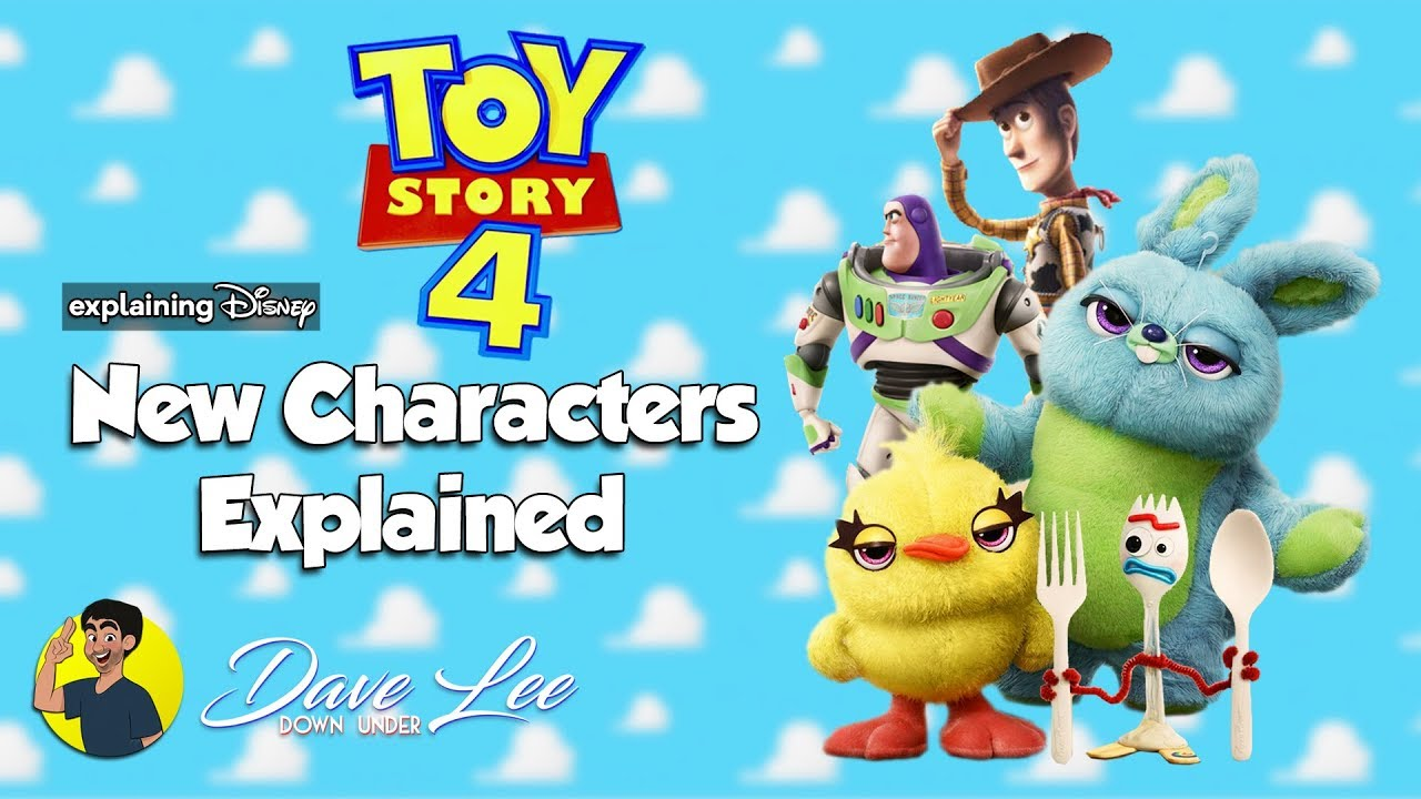 TOY STORY 4 - Who Are The New Characters? Explained - YouTube