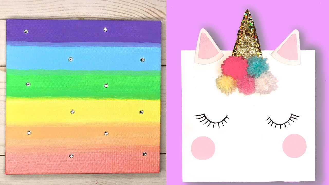 Diy Room Decor Ideas For Girls Unicorn Wall Decor Easy