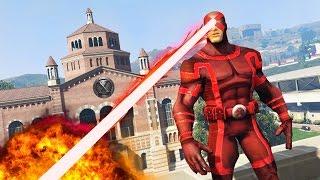 """GTA 5 Mods - ULTIMATE X-MEN """"CYCLOPS"""" MOD!! GTA 5 Cyclops Mod Gameplay! (GTA 5 Mods Gameplay)"""