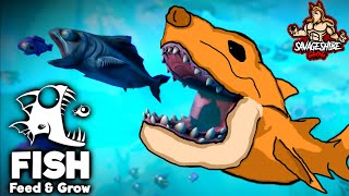 Feed And Grow Fish Ep: 1 - I AM GOD OF THE RIVER!!!