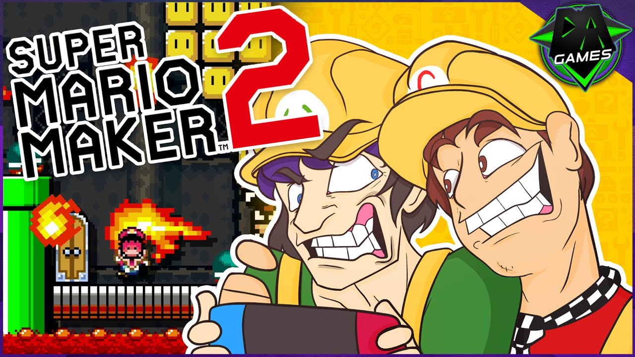 I'M NOT THE EDITOR!   MARIO MAKER 2 (WILL AND CHRIS) #1   DAGames