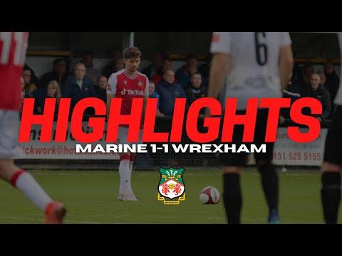 Marine Wrexham Goals And Highlights