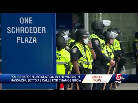 Police Reform Legislation In The Works In Mass.