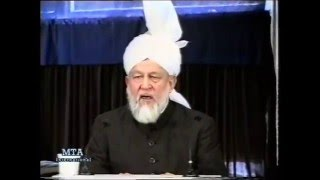 Friday Sermon 2 May 1997