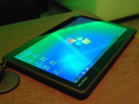 Tablet PC Pegatron al CES 2010 - TVtech
