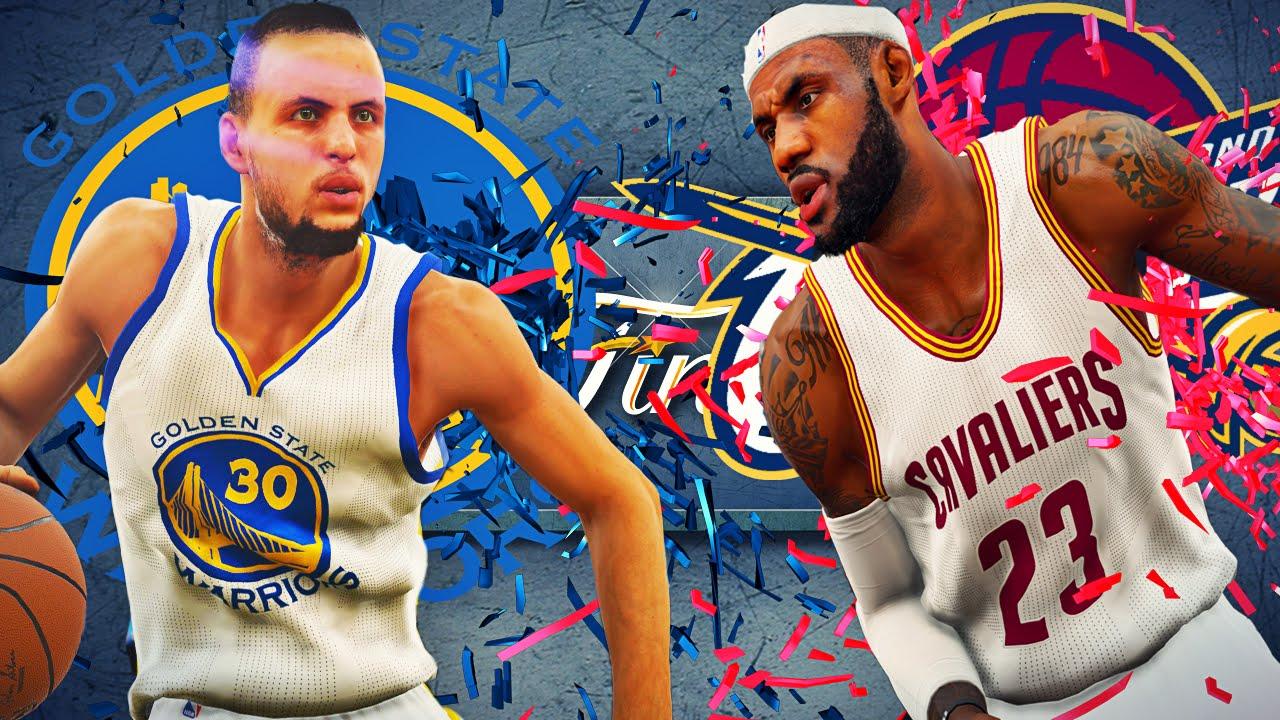 NBA2K15 - The NBA Finals 2015 - YouTube