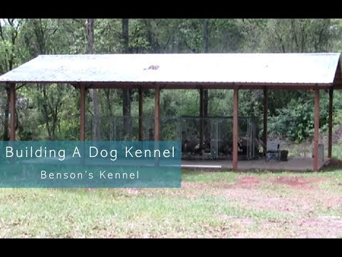 Building A Dog Kennel   Benson's Kennel