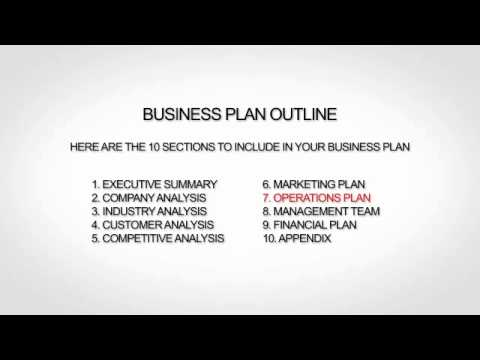 financial advisor business plan sample
