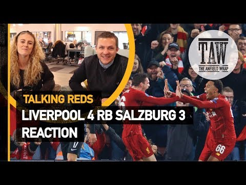 rpool 4 Red Bull Salzburg 3: Reaction  Talking Reds