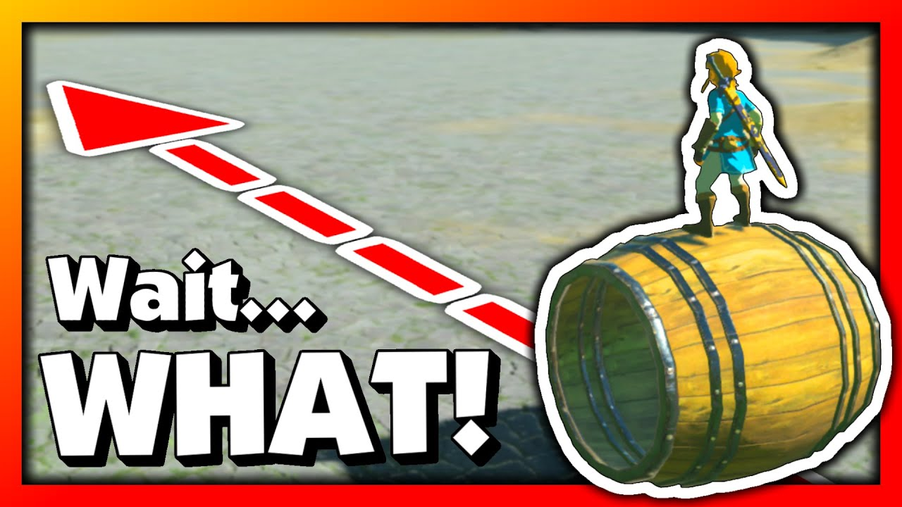 Barrels Just Got 105% More Awesome! (Breath of the Wild)