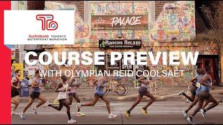 Scotiabank Toronto Waterfront Marathon Course Preview