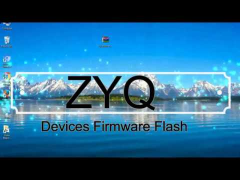 How To Flashing ZYQ Firmware (Stock ROM) Using Smartphone Flash Tool