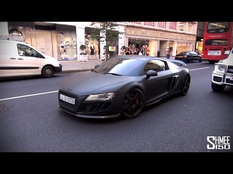 ABT Audi R8-R Supercharged with 552hp - Stealth Car in London