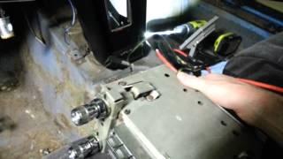 1966 Corvette-Radio removal