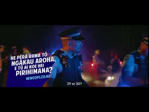 'Breaking News' NZ Police recruitment video - 6' version