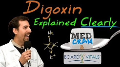 Digoxin Explained Clearly - A BV Question Answered by MedCram.com