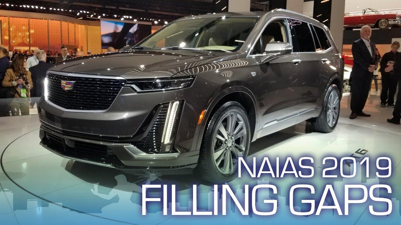 All New Cadillac Xt6 3 Row Crossover Naias 2019 Youtube