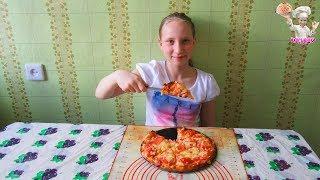 Пицца из слоеного теста! Рецепты из теста! ВКУСНЯШКА