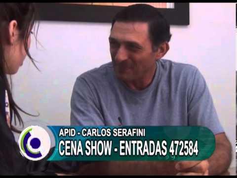 cena show apid carlos serafin