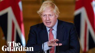 Coronavirus: Boris Johnson holds daily UK briefing – watch live