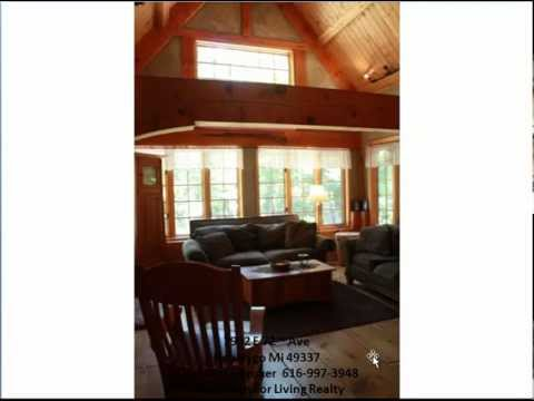 Log Home For Sale In Newaygo Mi Timber Frame Home