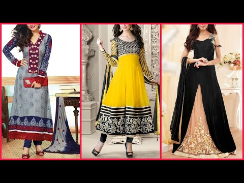 Embroidered Clothing|| Flowy Gouns And salwar kameez|| Pakistan & India Fashion & Trend||Ironical Ed