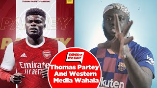 This Is How The Sun Reported Thomas Partey's Tranfer To Arsenal And E Dey Borst My Mind!