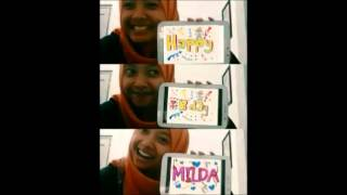 Happy Birthday Milda Qurratul Aini