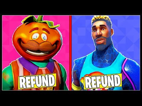10 SKINS YOU NEED TO REFUND In FORTNITE! (These Skins Suck!)