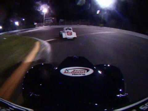 Legends Car Race 9-4-2009 Concord Motorsport Park Young Lions Feature Austin McDaniel Racing