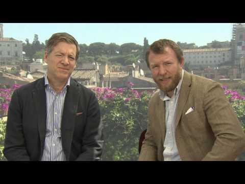 Guy Ritchie si  Lionel Wigram la ROMA, despre Man from U.N.C.L.E(2015)