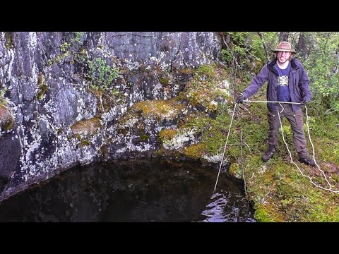 Arctic Historical Wilderness Mine - Exploring & Magnet Fishing