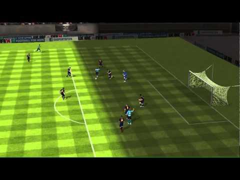 FIFA 14 iPhoneiPad - FC WafflesFTW vs FC Barcelona