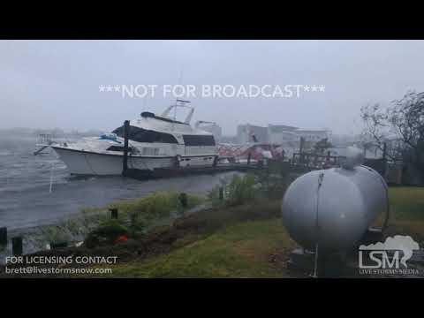 09-14-18 Topsail/Surf City Beach, NC- Hurricane Florence