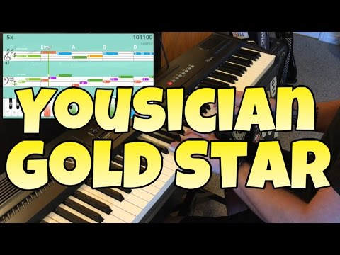 Yousician: Kung Fu Hero (Level 6 Piano Gold Star by NelsMedia)
