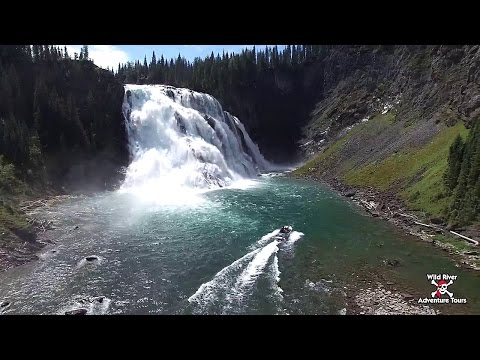 riverboat-trip-to-kinuseo-falls-with-wild-river-adventure-tours---tumbler-ridge,-british-columbia