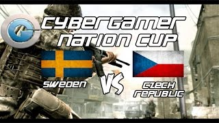 [promod] Sweden vs Czech Republic Cybergamer Nations Cup (mp_crash,Bo3)(1/3)