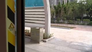 Ride on the tram in Guangzhou, China